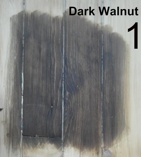 #1: Dark Walnut