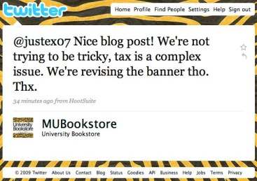 MU Bookstore Rocks the Social Media