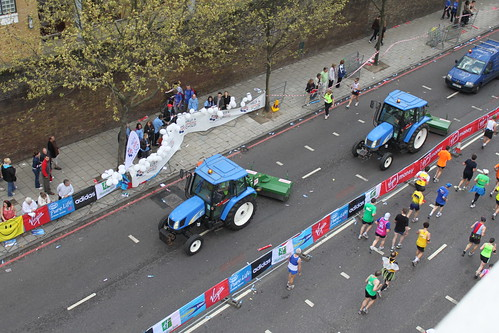 The roadsweeper tractors