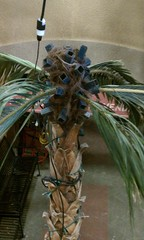 Prop palm tree