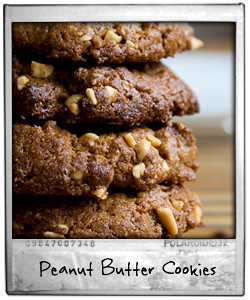 Wholewheat Peanut Butter Cookies
