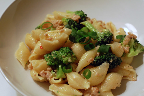 Cajun Spiced Sausage and Broccoli Pasta