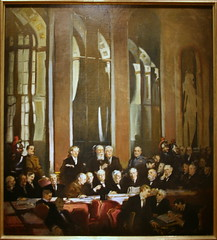Signing of the Treaty of Versailles, 1919