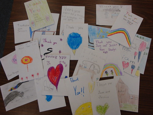 Thank you cards from Alameda