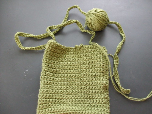 Crochet Bag WIP
