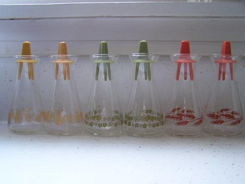 Pyrex Salt & Pepper Shakers
