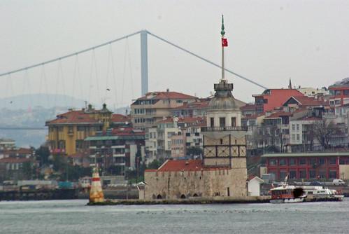 Kız Kulesi, Maidens Tower, Üsküdar Salacak, İstanbul, Pentax K10d