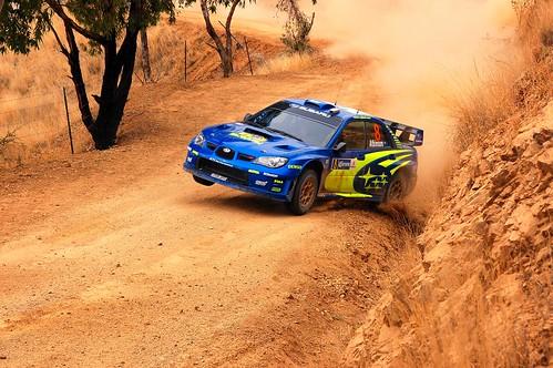 Subaru Rally WRC 2007 Leon Guanajuato Mexico por raulmacias.