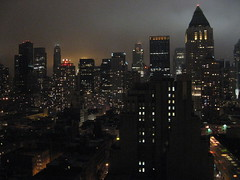 New York City / Earth Hour 2009 by darklag2
