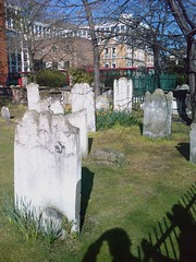 Gravestones at Bunhill Fields