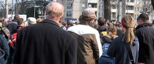 Einweihung des Jorge-Gomondai-Platzes am 30. März 2007