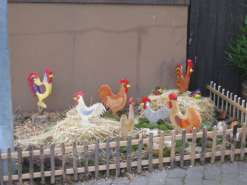 German Easter... chickens...
