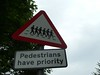 Pedestrians rule!