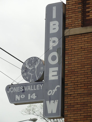 IBPOEofW Jones Valley Elks Club Sign, Birmingham, AL