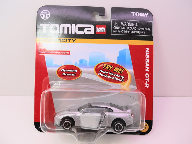 tomica tomy nissan gt-r silver (1)