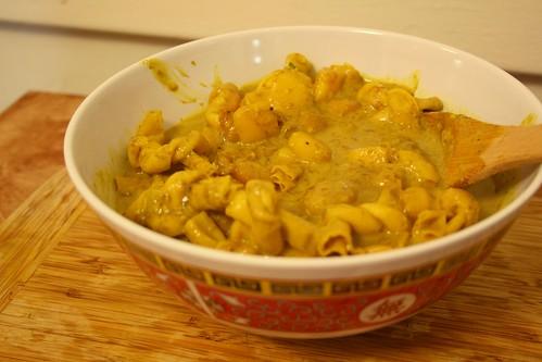 Mango Coconut Yuba Twist Curry