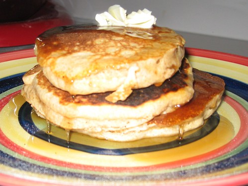 Whole Wheat Pancakes!