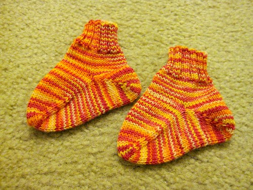 169/365: Baby Socks