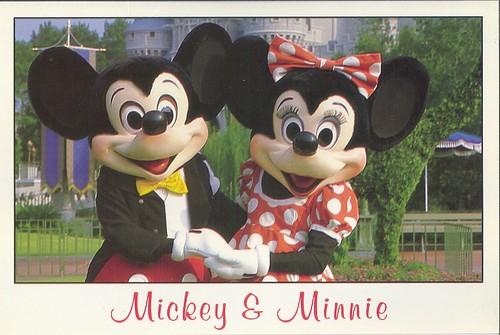 Old Disney Postcards