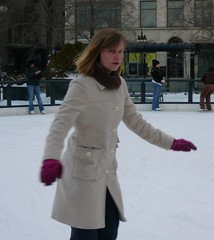 Dottie skating
