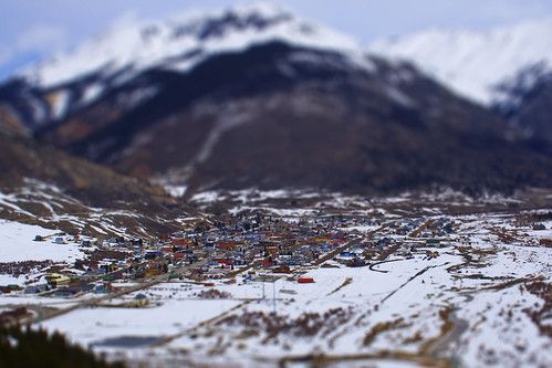 Tilt-shift Photo of Silverton, CO (Photo by Chris Hammett)