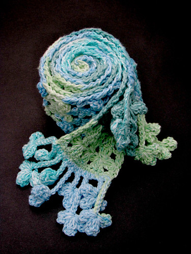 Spring Splash Cotton Scarf
