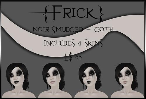 Noir Smudged - Goth