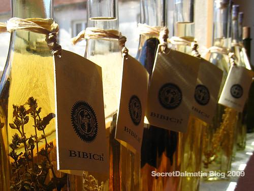 The grapas and brandys of Bibich