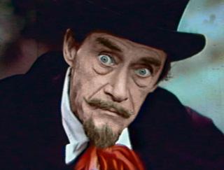 Dracula weird eyes