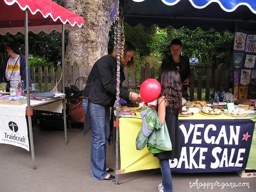 Sasha making a sale