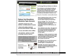 Text Messaging Reference - Text a Librarian On...