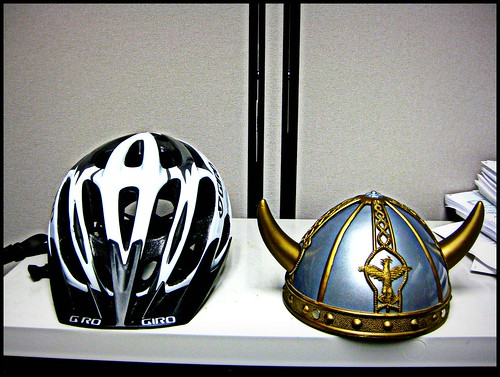 Which helmet will I wear today?