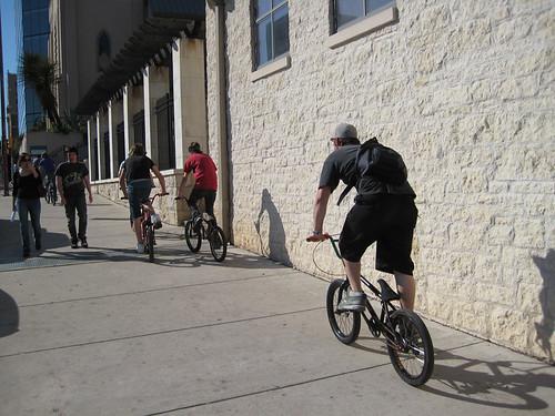 Sidewalk Riders in Austin