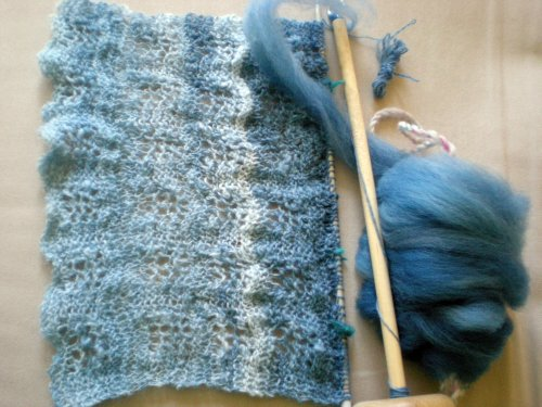 shawl and spindle