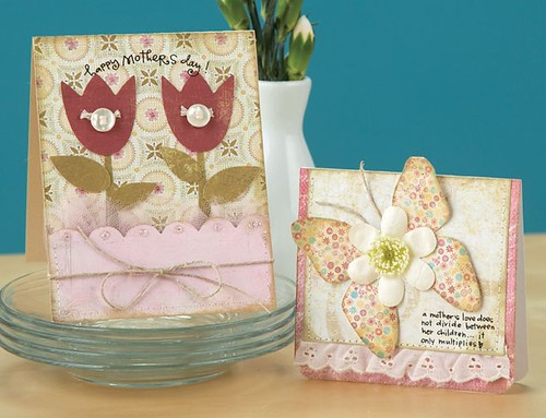 Heres Beatriz Jennings Tulip Card and A Mothers Love Card