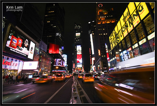 Times Square - New York - Ken Lam photography by you.