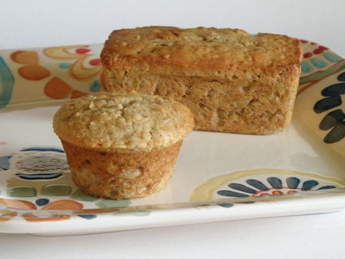 banana-coconut muffin