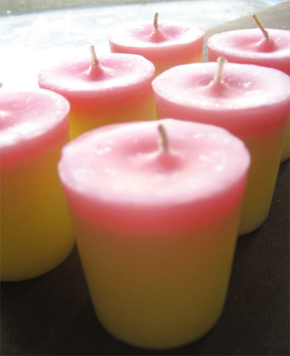 Strawberry Vanilla Votive Candles