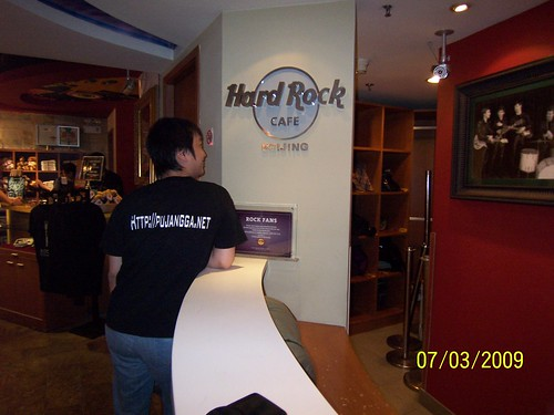pujangga.net @ Hard Rock Beijing