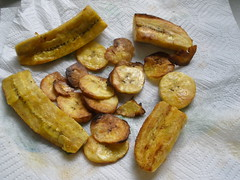 Fried Plantains from Zambia
