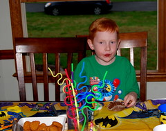 Jacob at his 6th birthday party!
