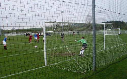 Steven Smith scores a penalty