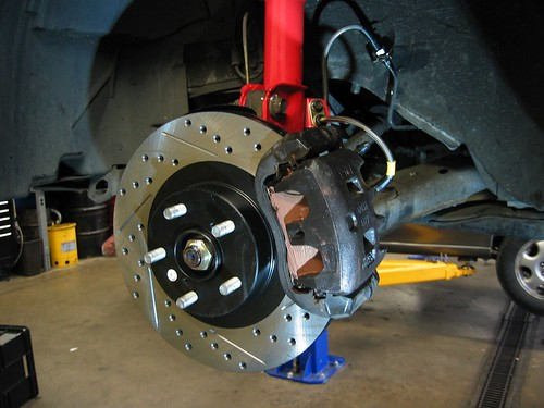WRX Brake Upgrade in Seattle