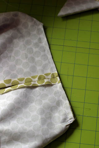Fabric Box: corner cut