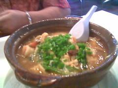Garden Hotel claypot noodles