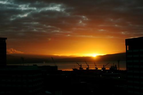 Wednesday: Amazing Sunrise