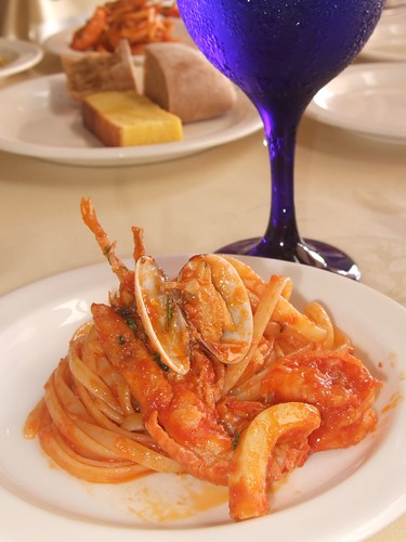 My Plate of Pescatore Linguine