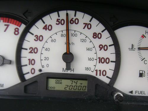 car's milestone