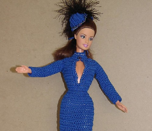 Look - slightly slutty movie star clothes for Barbie!  :D