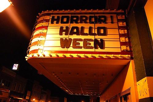 Halloween Marquee